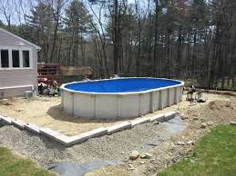 round above ground swimming pools. Exellent Round Oval Above Ground Pool With Deck Round Plans Plastic  For In Swimming Pools S