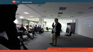 Ve Interactive Event Opening Cristian Cazan Development Director Ve