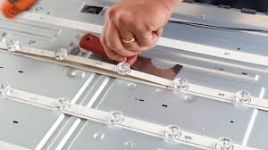 How to Replace LED Strips in LG LED TV - 55LF 55LB NC55 ...