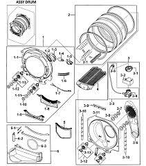 samsung dryer parts. drum assy samsung dryer parts t