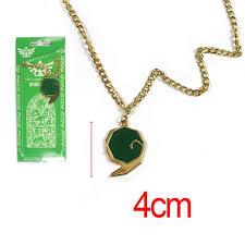 game the legend of zelda green kokiri spiritual stone metal alloy necklace