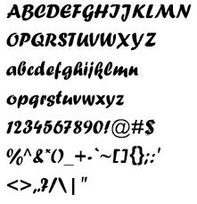 Fonts F Forte Flash Kit
