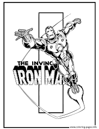 Small Picture The Invincible Iron Man Comic Book Coloring Pages Printable