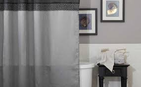 royal blue shower curtain purple and grey