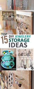 I thought my jewelry box was doomed until I saw these amazing DIY storage  ideas.