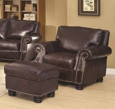 Oversized Chairs For Living Room Furniture Leather Chair And Ottoman Oversized Leather Chair And