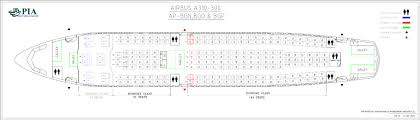 A310 300 Seating Chart Pia Aircraft Seat Maps History Of Pia Forum