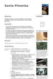 Senior Architect Resume Samples - Visualcv Resume Samples Database