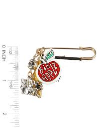 new york city charm pin and brooch