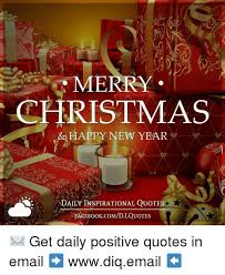 Inspirational New Year Quotes Impressive MERRY CHRISTMAS HAPPY NEW YEAR DAILY INSPIRATIONAL QUOTES