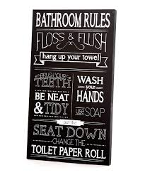 women on bathroom wall art black and white with twelve timbers black white bathroom rules wall art zulily
