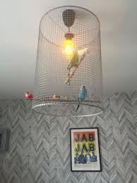how to make a birdcage light