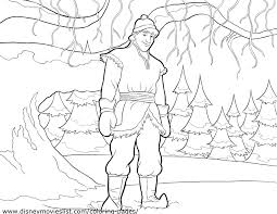 Disney S Frozen Coloring Pages Sheet