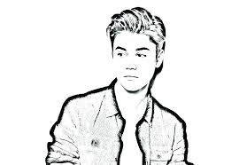 justin bieber coloring pages page celebrities 8 printable
