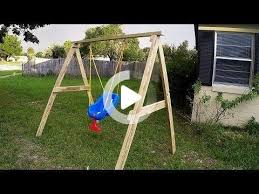 swing set diy kids swing