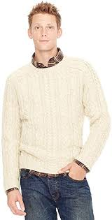 Fossil Aaron Cable Crew Neck Sweater Mc2656111xl Color: Cream at Amazon  Men's Clothing store: Pullover Sweaters