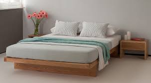 King Japanese Platform Bed Beliani Wooden Bed Japan Style Super