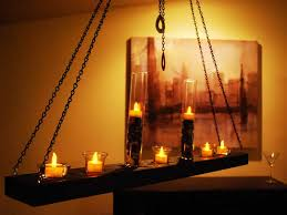 candle chandelier non electric hanging