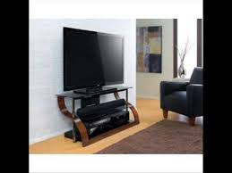 samsung tv on stand. 65 inch 3 shelf curved wood flat panel stand; bello tv stands for screens - youtube samsung on stand