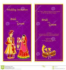 indian wedding invitation card stock vector image 48582702 Indian Wedding Card Free Vector card illustration indian invitation vector wedding indian wedding card design vector free download