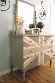 painted furniture union jack autumn vignette. We Have An Old Dresser Think I May Just Do This. Gray Union Jack - French Linen, Country Gray, And White Painted Furniture Autumn Vignette