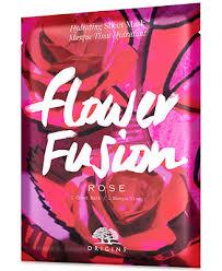 <b>Origins Flower Fusion Rose</b> Hydrating Sheet Mask & Reviews - Skin ...
