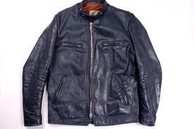 brimaco blue cafe racer jacket 1