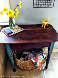refinishing furniture with coconut oil 2 little supeheroes2