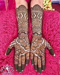 Indian Wedding Henna Designs 30 Latest Bridal Mehndi Designs Of 2018 Blog