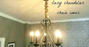 chandeliers chandelier chain cover how to make a inspirational nest chai