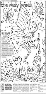 A Coloring Page For Grown Ups