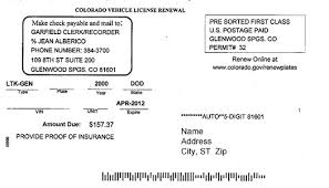vehicle registration plates of colorado colorado vehicle registration