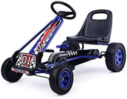 Costzon Go Kart, 4 Wheel Pedal Powered Ride On ... - Amazon.com