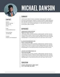 Resume Templates Com Free Professional Resume Templates Downloadable Lucidpress