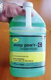 ac coil cleaner. evaporator coil cleaner: nu-calgon evap pow\u0027r-c 4168-08 ac cleaner