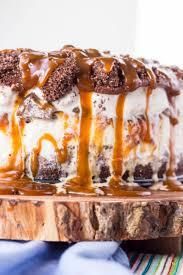 Salted Chocolate Caramel Ice Cream Cake Coley Cooks