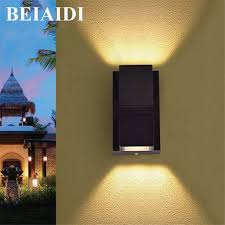 beiaidi 6w outdoor up down led wall