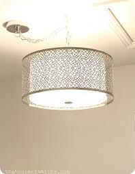 drum shade pendant lighting. Likeable Innovative Drum Shade Pendant Light 163 Best Images About On Fixture Lighting T