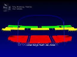 Brooks Atkinson Seating Chart Brooks Atkinson Theatre Broadway Seating Chart History