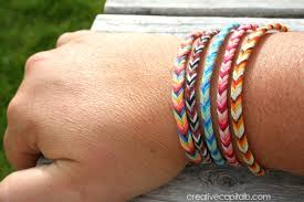 Braided Bracelet Patterns Unique Capital B Easy Braided Chevron Friendship Bracelet