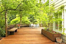 wood deck cost. Cost To Build A Wood Deck Outdoor Wooden Kit Free Plans . T