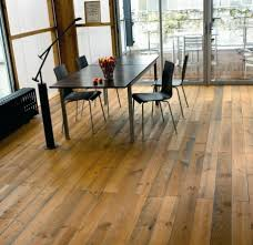 Terrific Home Flooring Decoration Ideas With Pallet Wood Floor Design :  Appealing Rectangular Black Wooden Dining