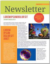 Newletter Example Image Result For Newsletter Examples For Students