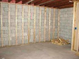 attractive painting concrete basement walls paint colors for nice framing images of pa