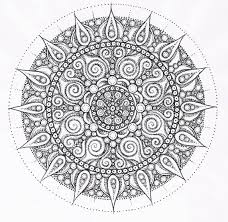 Free Printable Mandala Coloring Pages Adults Tagged With Advanced