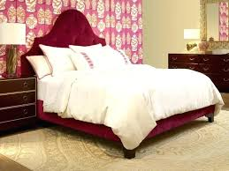 Wood Upholstered Bed Amazing Wood And Upholstered Headboard Solid