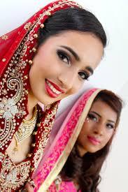 asian bridal look by students at mla