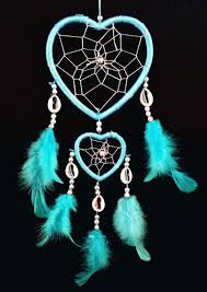 Dream Catcher Purpose Amazon Heartshaped Dream Catcher With Feathers Car Or Wall 55