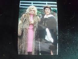 Estate of Ava Gardner screen worn Knot's Landing Black and white linen cape  | #486760861
