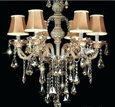mini lamp shades for chandelier home depot captivating chandeliers with a crystal ball and small shade